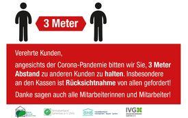 Wichtige Informationen zum Umgang mit dem Corona Virus (SARS-CoV-2)