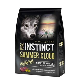 PURE INSTINCT Hundefutter Adult mit Ente 4kg (Summer Cloud)