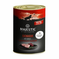 MAJESTIC Nassfutter Adult mit Multifleisch-Cocktail, 400g...